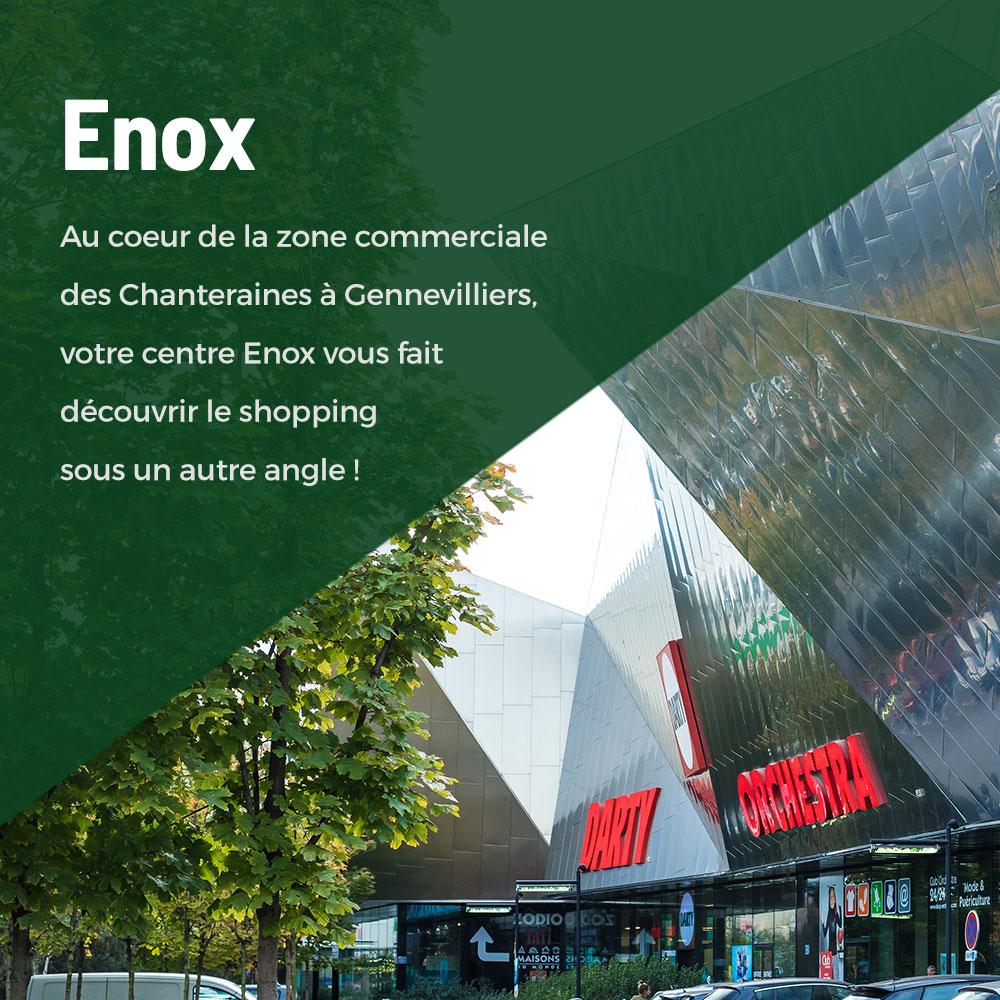 Centre Enox Gennevilliers Chanteraines